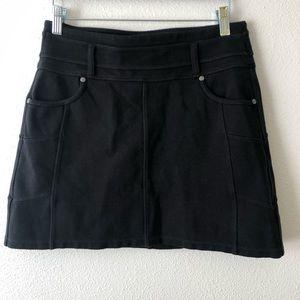 Athleta | Rockwell Black Mini Skirt